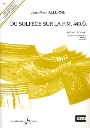 Jean-Marc Allerme - of the Solfeggio on the FM 440.6 - Play Rhythm - Sheet Music - di-arezzo.com