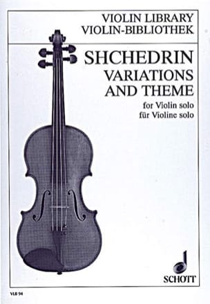 Rodion Shchedrin - Variations and Theme - Partition - di-arezzo.fr