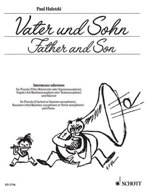 Paul Haletzki - Vater und Sohn - Piccolo-Flute Fagott Klavier - Sheet Music - di-arezzo.com