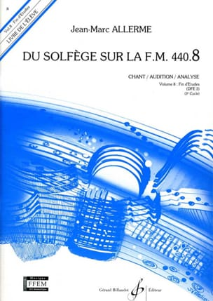 Jean-Marc Allerme - of the Solfège on the FM 440.8 - Chant Audition Analyze - Sheet Music - di-arezzo.com