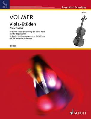 Viola-Etüden - Berta Volmer - Partition - Alto - laflutedepan.com