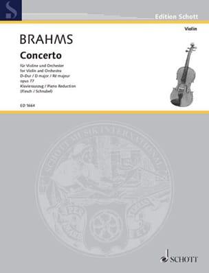 Concerto pour Violon et orchestre op. 77 en Ré Majeur - laflutedepan.com