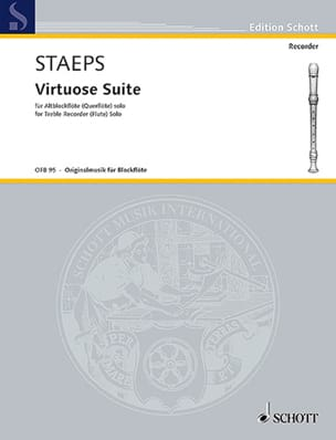 Hans Ulrich Staeps - Virtuoso Suite - Sheet Music - di-arezzo.com