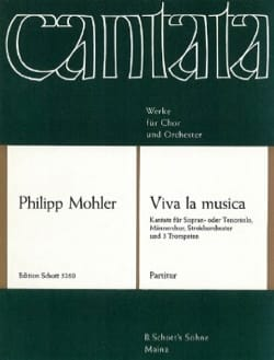 Viva la musica, op. 41 - Partitur - Philipp Mohler - laflutedepan.com