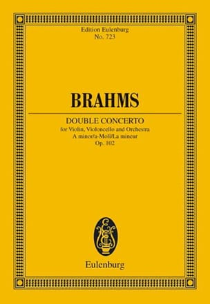 BRAHMS - Doppel-Konzert A-Moll - Driver - Sheet Music - di-arezzo.co.uk
