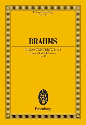 BRAHMS - Klavier-Konzert Nr. 1 d-moll - Sheet Music - di-arezzo.co.uk