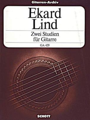 Ekard Lind - Zwei Studien for Gitarre - Sheet Music - di-arezzo.co.uk