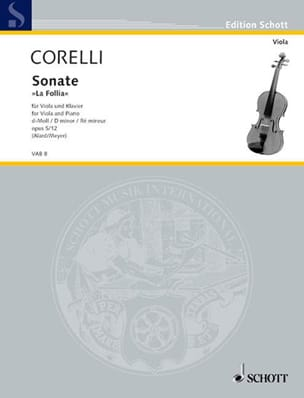 CORELLI - Sonata d-Moll, op. 5 n ° 12 - Sheet Music - di-arezzo.co.uk