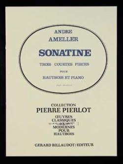 André Ameller - Sonatine - Partition - di-arezzo.fr