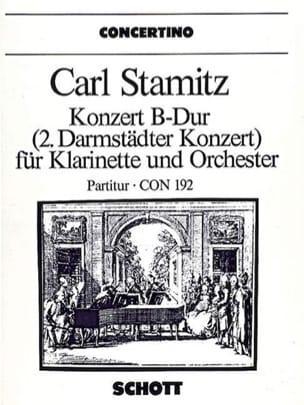 Konzert B-Dur für Klarinette – Partitur - laflutedepan.com