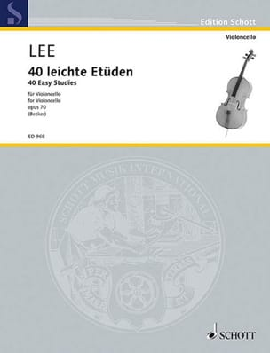 Sebastian Lee - 40 Leichte Etüden op. 70 - Sheet Music - di-arezzo.co.uk