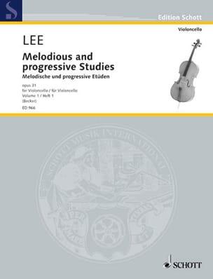 Sebastian Lee - Melodische und progressive Etüden op. 31 – Heft 1 - Partition - di-arezzo.fr