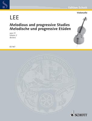 Sebastian Lee - Melodische und progressive Etüden op. 31 - Heft 2 - Sheet Music - di-arezzo.co.uk
