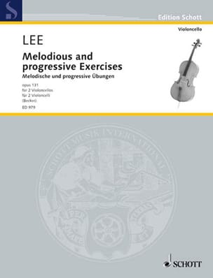 Sebastian Lee - Melodische und progressive Übungen op. 131 - Sheet Music - di-arezzo.co.uk