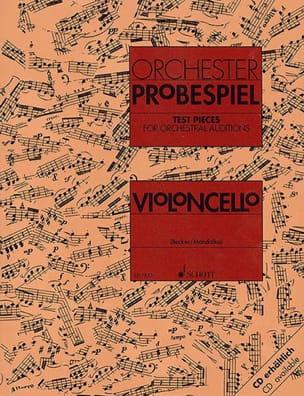 Becker Rolf / Mandalka Rudolf - Orchester-Probespiel - Violoncello - Sheet Music - di-arezzo.com