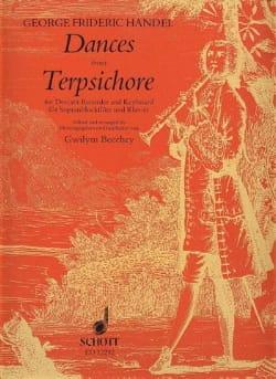 Dances from Terpsichore – Descant recorder - laflutedepan.com