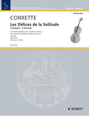 6 Sonates Op.20 Vol.2 - Michel Corrette - Partition - laflutedepan.com