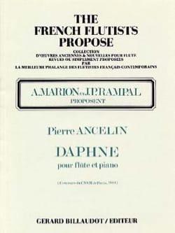 Pierre Ancelin - Daphné - Partition - di-arezzo.fr
