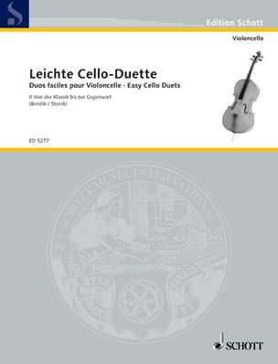Duos Faciles Pour Violoncelles Volume 2 - laflutedepan.com