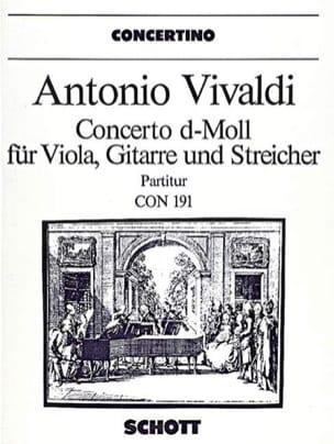 VIVALDI - Concerto d-moll for Viola, Gitarre RV 540 - Partitur - Sheet Music - di-arezzo.com