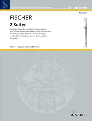 Johann Fischer - 2 Suiten Entertainment - Sheet Music - di-arezzo.com