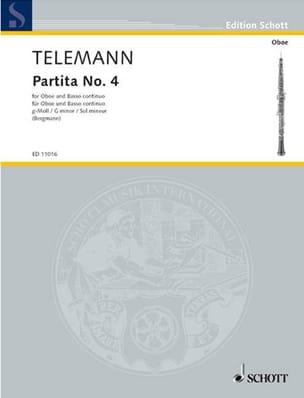 Partita Nr. 4 g-moll –Oboe und Bc - laflutedepan.com