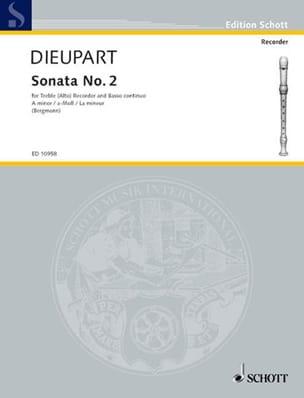 Sonata Nr. 2 a-Moll – Altblockflöte u. Bc - laflutedepan.com
