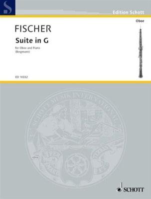 Suite G-Dur - Johann Fischer - Partition - Hautbois - laflutedepan.com