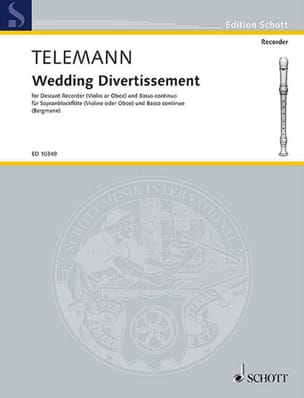 Wedding Divertissement - Georg Philipp Telemann - laflutedepan.com