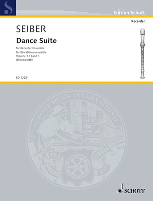 Mátyás Seiber - Dance Suite, Bd 1 - Sheet Music - di-arezzo.co.uk