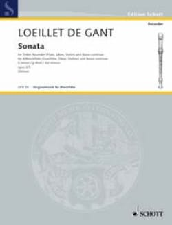 Sonate g-moll op. 3 n° 3 – Altblockflöte u. Bc - laflutedepan.com