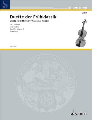 Paul Bormann - Violinduette der Frühklassik, Bd. 1 - Partition - di-arezzo.fr