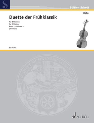Paul Bormann - Violinduette der Frühklassik, Bd. 2 - Partition - di-arezzo.fr