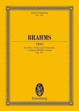 Johannes Brahms - Klavier-Trio C-Moll, Op. 101 - Partition - di-arezzo.fr