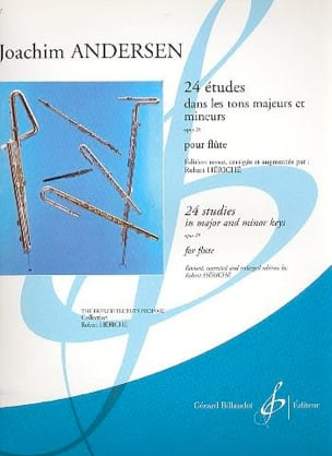 Joachim Andersen - 24 Studies op. 21 - Sheet Music - di-arezzo.co.uk