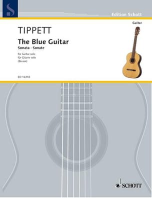 The blue guitar - Michael Tippett - Partition - laflutedepan.com