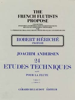 Joachim Andersen - 24 Technical Studies op. 63 - Volume 2 - Sheet Music - di-arezzo.co.uk