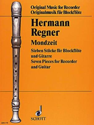 Mondzeit - Hermann Regner - Partition - Duos - laflutedepan.com