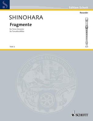 Makoto Shinohara - Fragmente - Partition - di-arezzo.fr