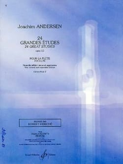 Joachim Andersen - 24 Major studies op. 15 - Volume 2 - Sheet Music - di-arezzo.com