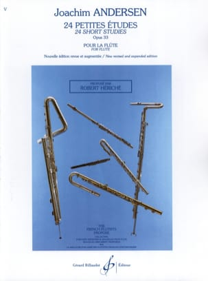 Joachim Andersen - 24 Small studies op. 33 - Sheet Music - di-arezzo.co.uk