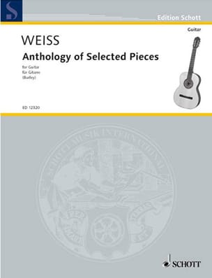 Silvius Leopold Weiss - Anthology of Selected Pieces - Guitar - Sheet Music - di-arezzo.com