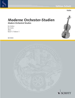 Moderne Orchesterstudien – Bd. 1 - Ludwig Bus - laflutedepan.com