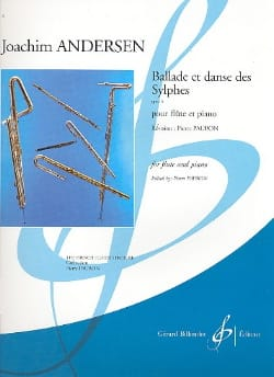 Joachim Andersen - Ballad and Dance of the Sylphs op. 5 - Sheet Music - di-arezzo.com