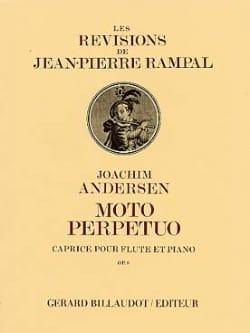 Moto perpetuo op. 8 - Joachim Andersen - Partition - laflutedepan.com