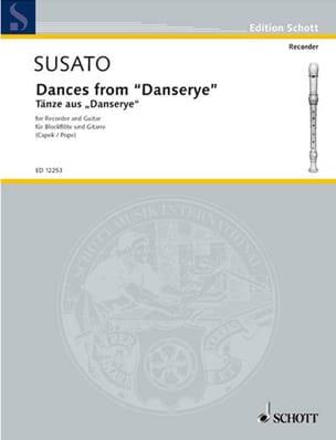 Tielman Susato - Dances from Danserye 1551 - Sheet Music - di-arezzo.com