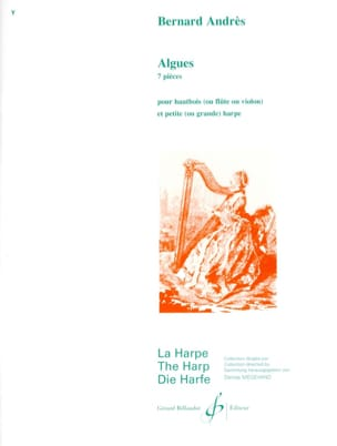 Bernard Andrès - Algae - Sheet Music - di-arezzo.co.uk