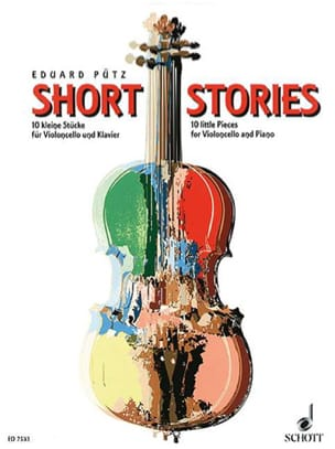Short Stories Eduard Pütz Partition Violoncelle - laflutedepan