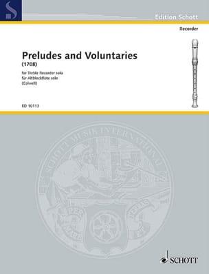 - Preludes and Voluntaries 1708) - Treble solo recorder - Sheet Music - di-arezzo.co.uk
