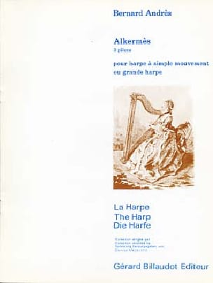 Bernard Andres - Alkermès - for Harp with single movement or Grande Harpe - Sheet Music - di-arezzo.co.uk